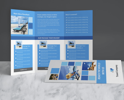 Brochure Design Services - GetPromoted