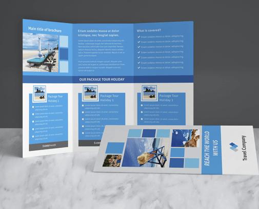 Brochure Design Services - GetPromoted