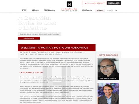 Medical Website Designed for Hutta & Hutta