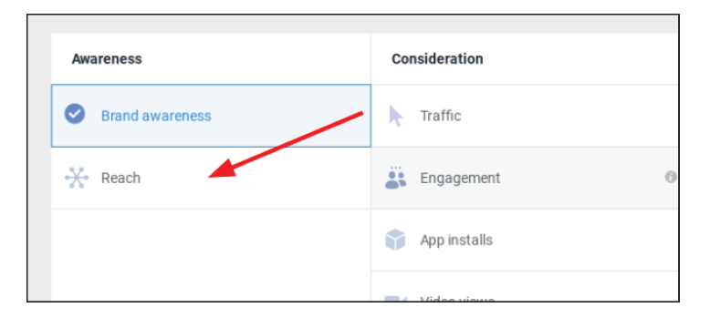Step 4 for fb business setting