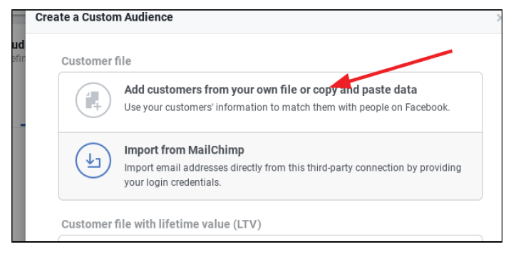 Step 6.2 for setting fb business page
