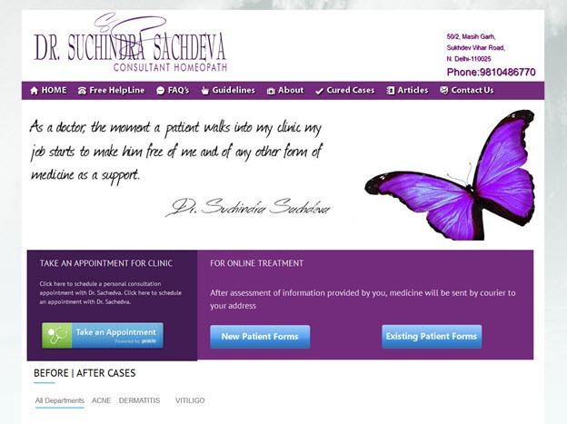 after website redesign