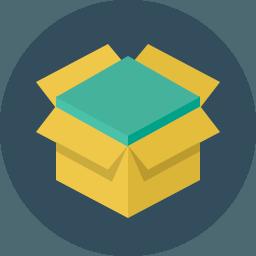 Ecommerce shopping icon